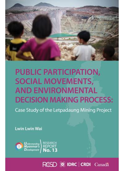 UMD 13 Public Participation, Social Movements and Environmental Decision Making Process
