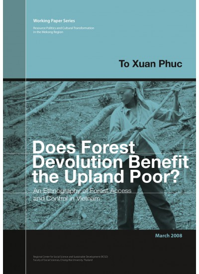 Does Forest Devolution Benefit the Upland Poor?
