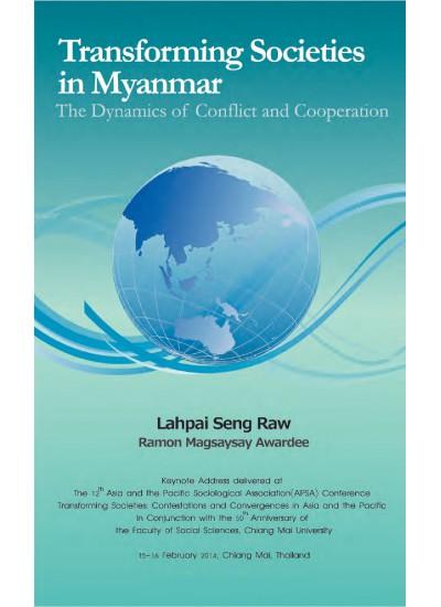 Transforming Societies in Myanmar