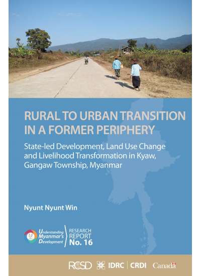 UMD 16 RURAL TO URBAN TRANSITION IN A FORMER PERIPHERY