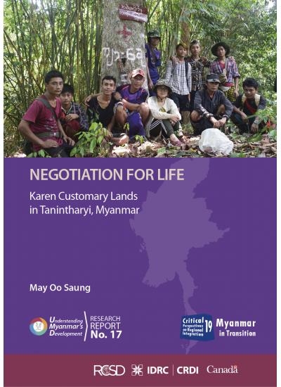 UMD 17 Negotation for Life: Karen Customary Lands in Tanintharyi, Myanmar
